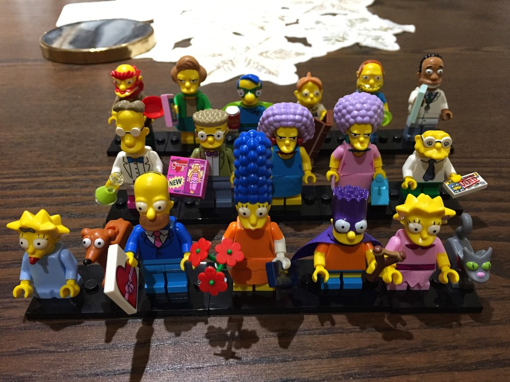 Simpsons Lego Minifigures Set Series 2