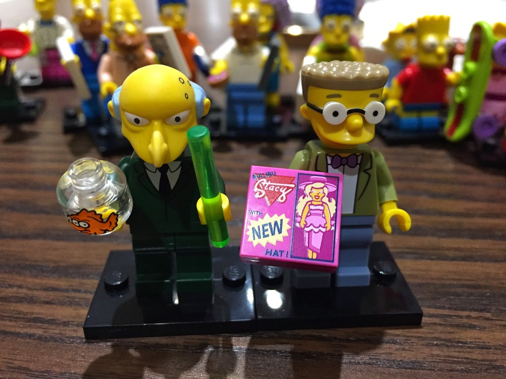 """Smithers, explain the meaning of this NEW Stacy Malibu doll."""