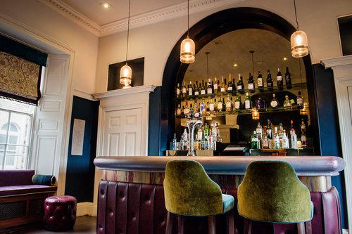 The Bar - Enjoy a pre-dinner drink at our bar…