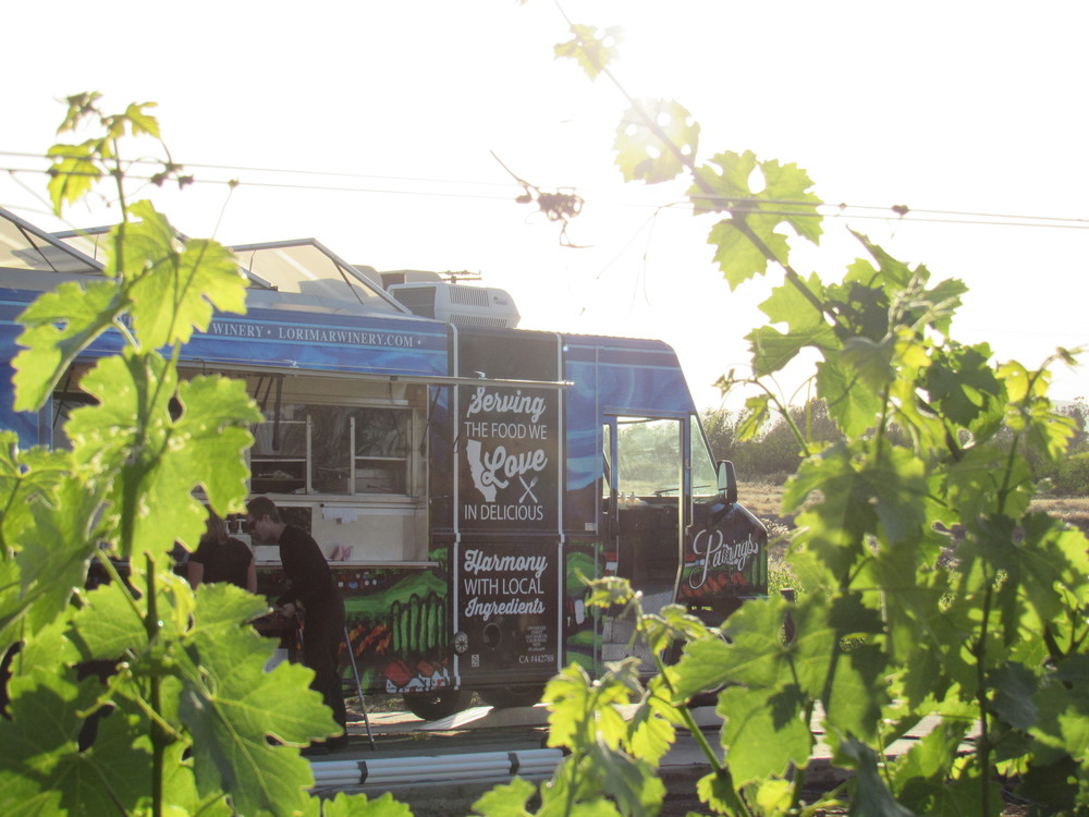 The  ONLY  winery in Temecula with their  OWN  Food Truck!!!!!!!  We loved the  Kobe Beef  Hamburgers and the  Truffle Fries  were amazing!!!