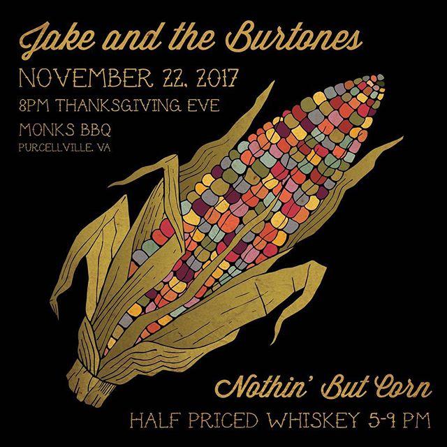 Burtones @monksbbq  tonight! Y'all come on out and celebrate with us.  #jakeandtheburtones #burtones #oldtime #bluegrass #countrymusic #oldtimemusic #acab #martinguitar #appalachia #coalhugger #crookedhillary #oprahsbookclub #glockteam #oprahswookclub #loggedin #fuckthatsdelicious #fuck12 #fuckdonaldtrump
