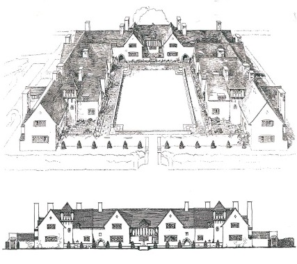 duchess of somerset's almshouses in froxfield