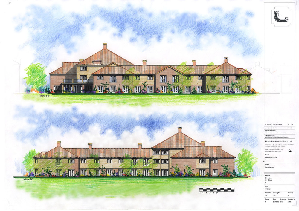 HAND COLOURED Elevations  1-1 & 3-3.jpg