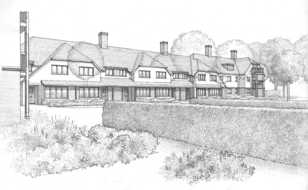 St Albans Revised Application - Our improved scheme for the site in St Albans received another successful planning approval.The proposals for Beechcroft Developments are for retirement housing on the site of the former Maryland Convent.