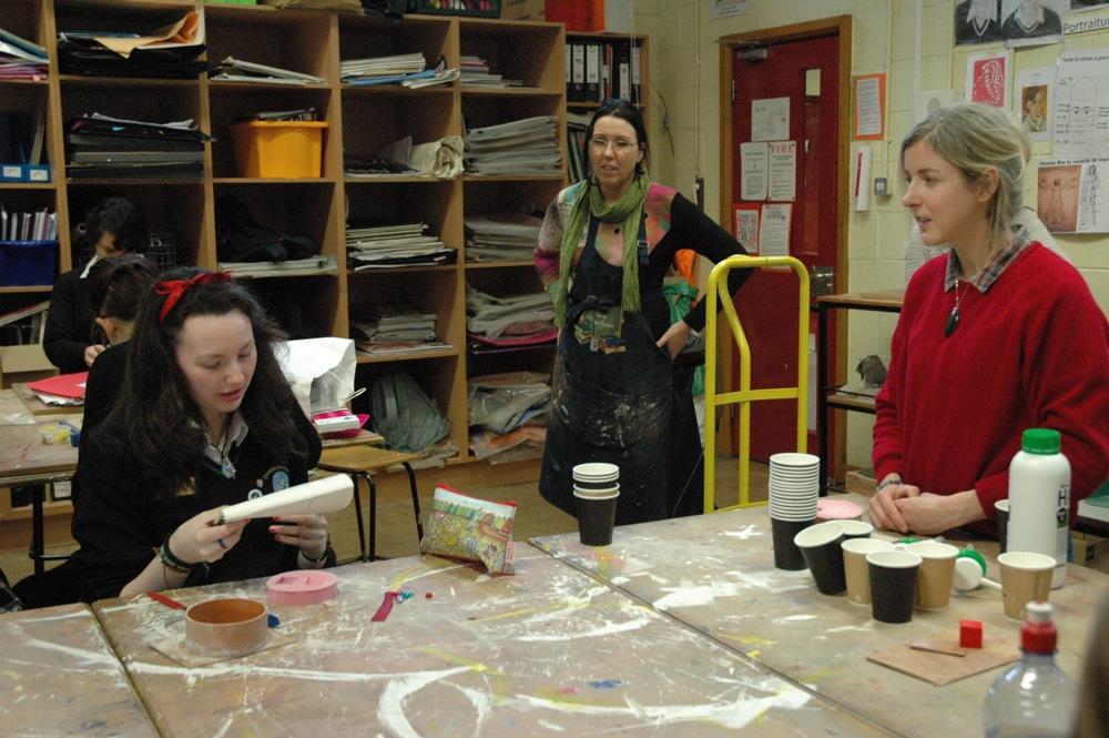 Ruth Lyons workshop 2 students present materials.jpg