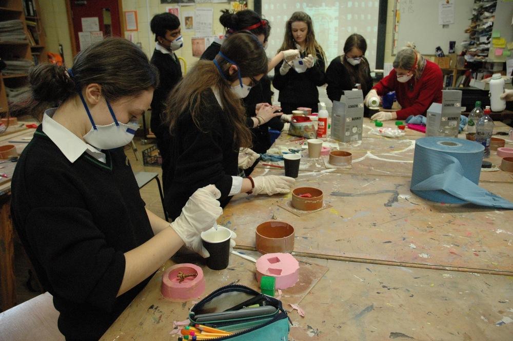 Ruth Lyons workshop 2 preparing resin.jpg