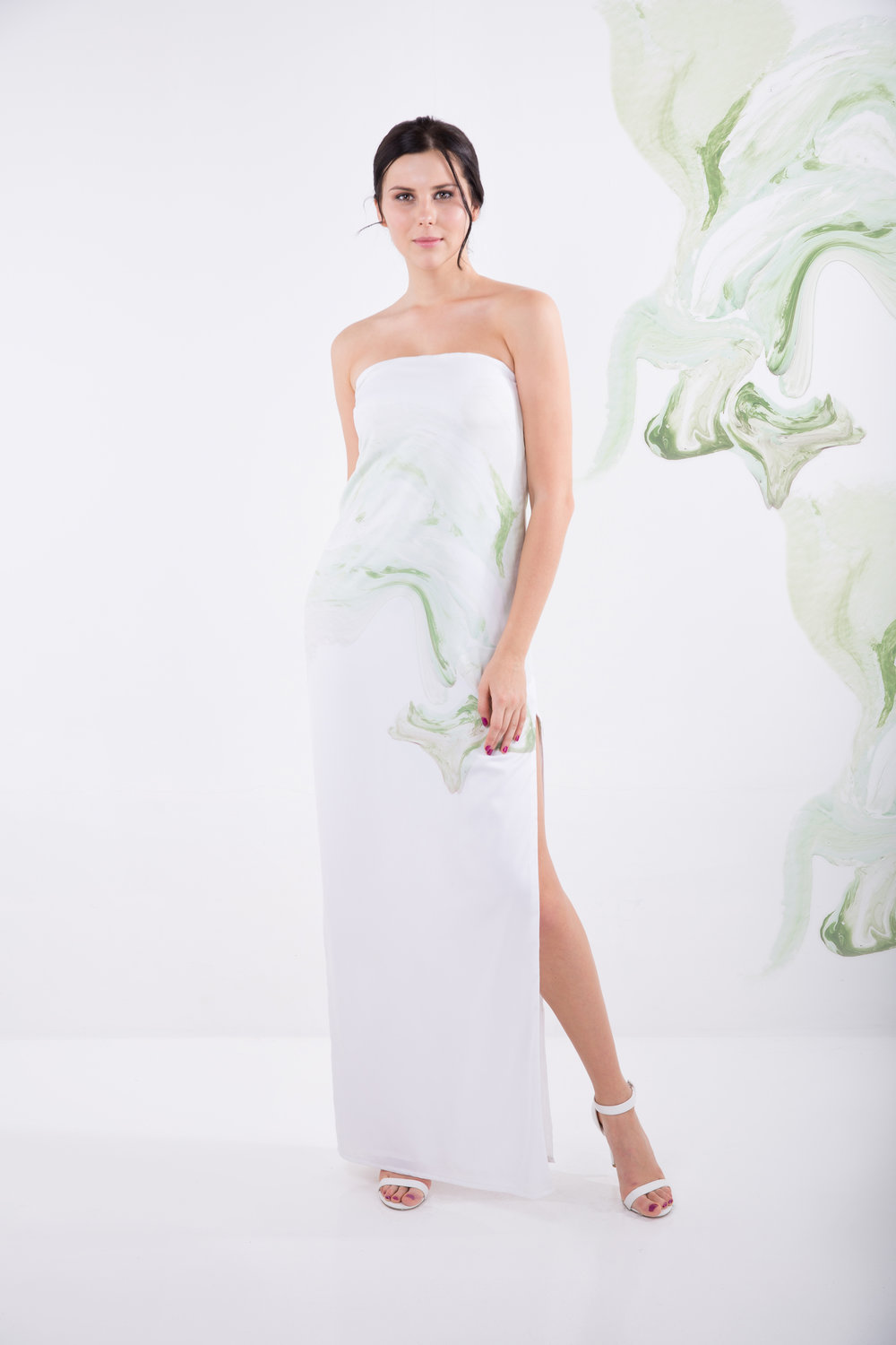 The Jade dress by ASHLEIGH KWONG