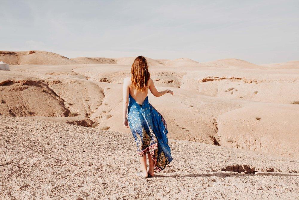 Meg in Morocco