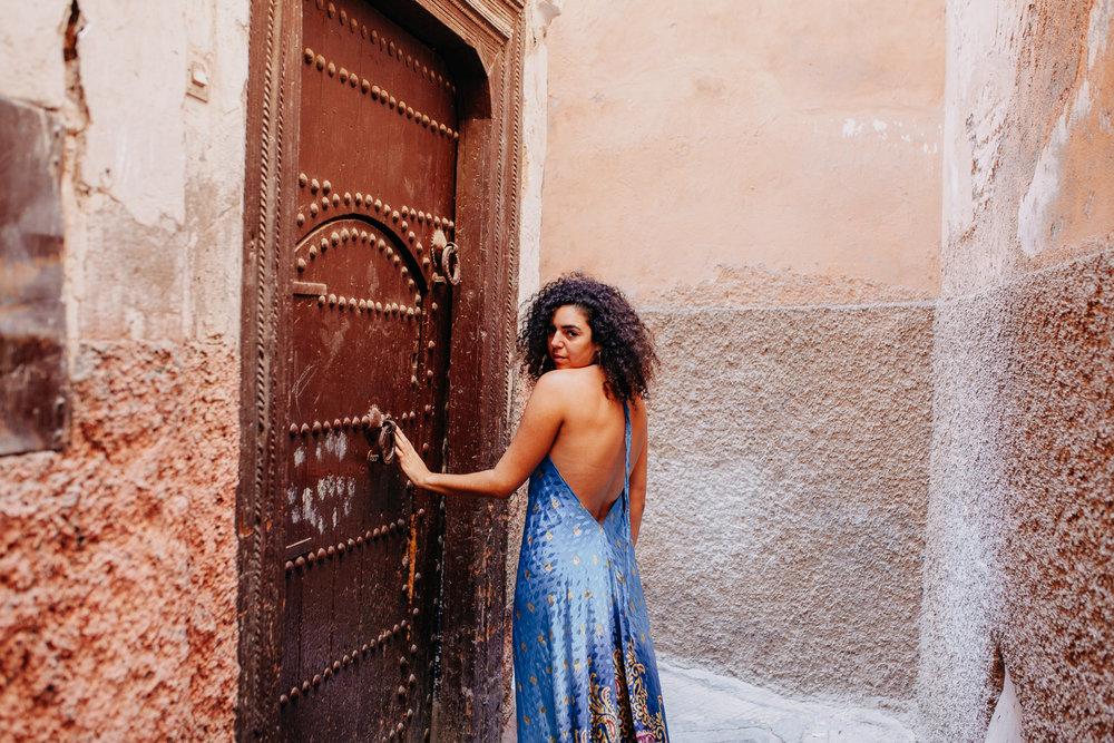 Kenza in Marrakesh