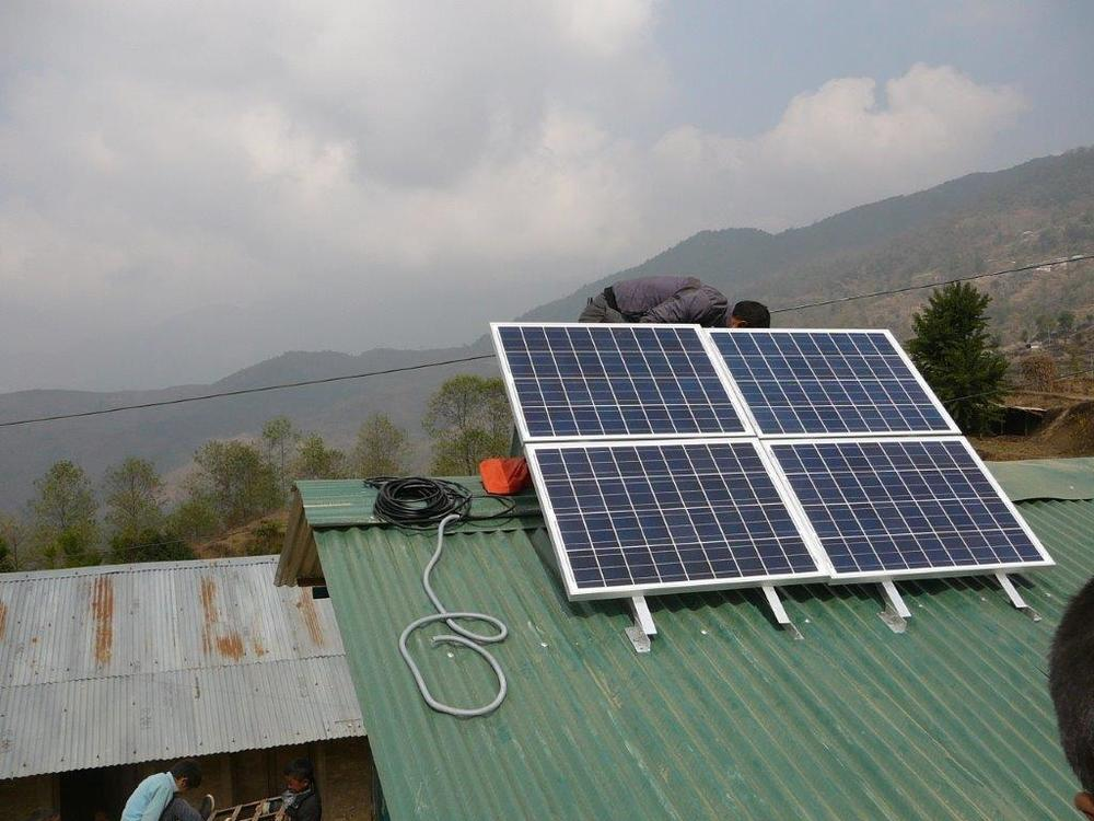 Solar Panel at Muna Devi School for SPOWTS system.jpg