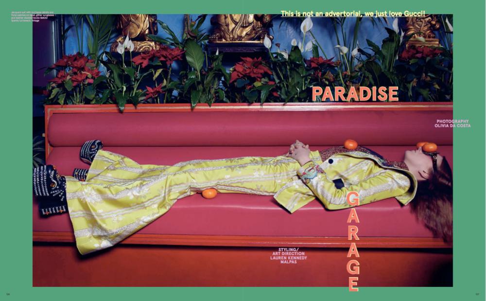 Art Direction &Styling for Please Magazine | © Olivia Da Costa