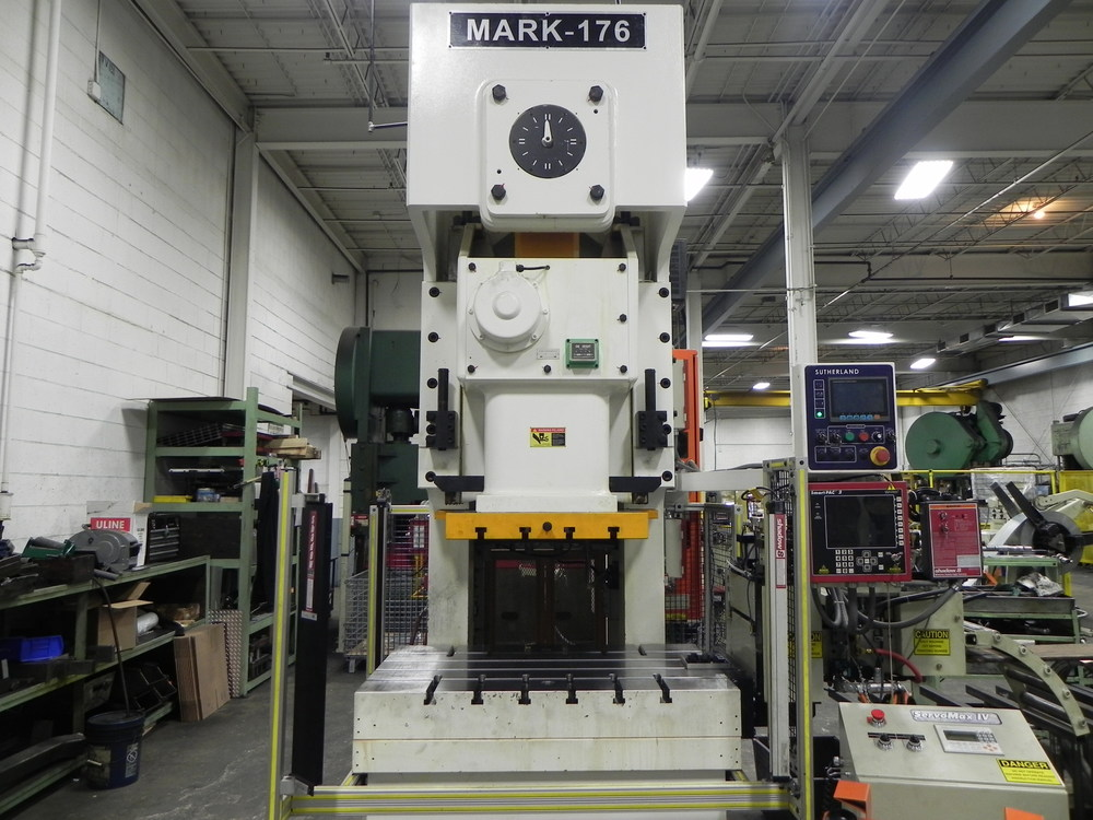 Metal Stamping- Mark 176 Punch Press