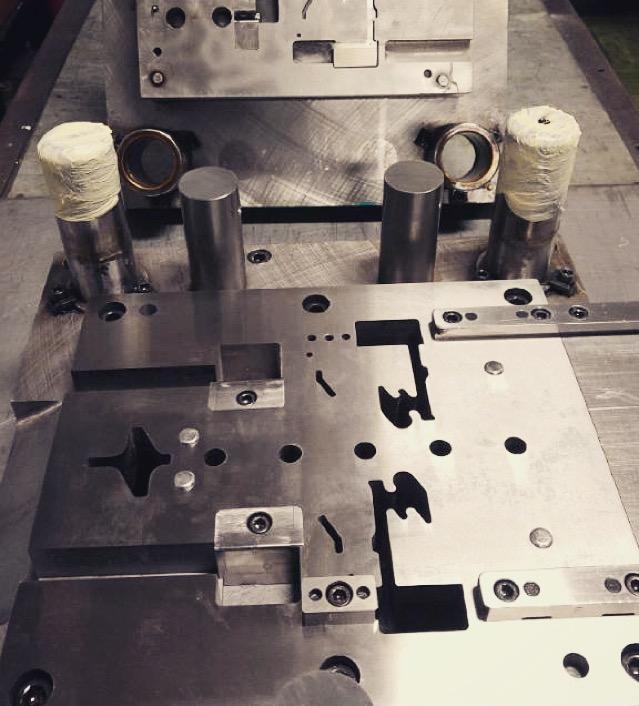 Metal Stamping Punch Press Die