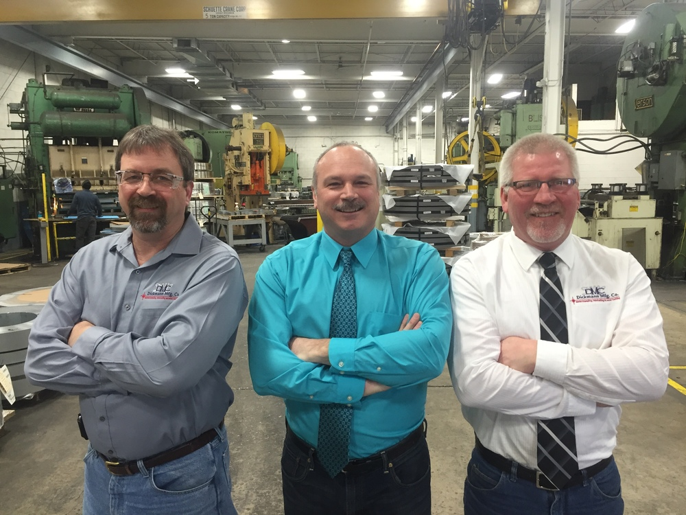 Owners pictured from left to right (Mark Zipperer, Rick Lisowe, and Dave Schneider)
