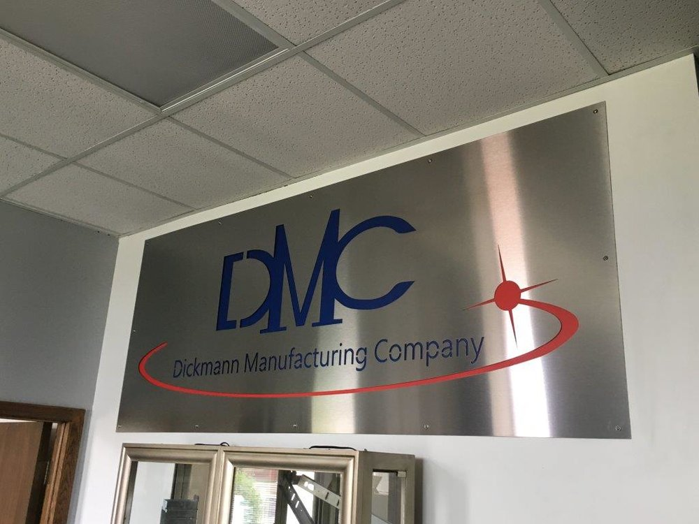 DMC Office Sign