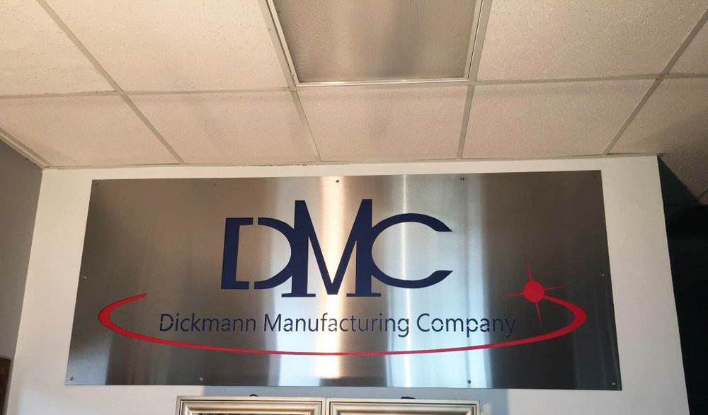 DMC Office Sign Front View