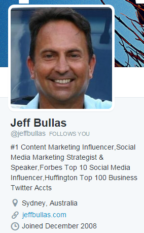 Jeff Bullas on Twitter
