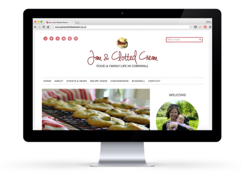 Jam & Clotted Cream Website