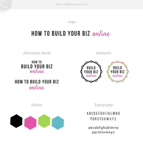 'How to Build Your Business Online' brand concept
