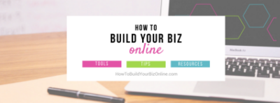 'How to Build Your Business Online' social media graphics