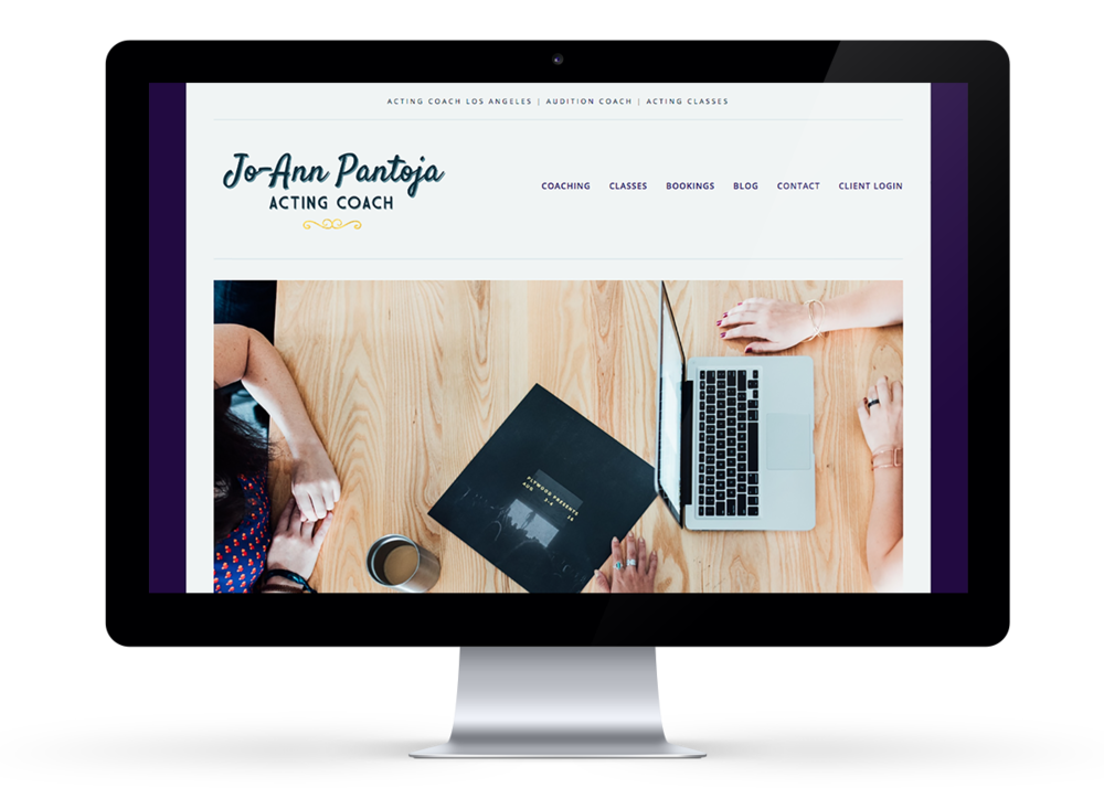 Jo-Ann Pantoja Coach Website