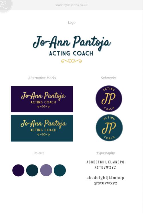 JoAnn Pantoja Brand Concept