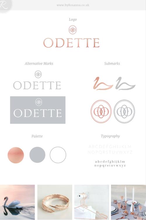 Brand Concept for Odette - byRosanna