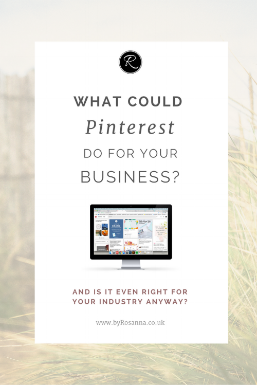 What could Pinterest do for your business? (+ an announcement)