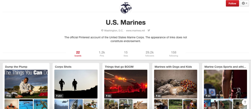 US Marines on Pinterest
