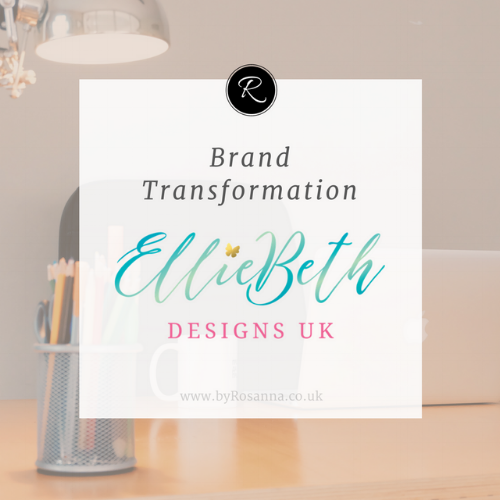 Rebrand with EllieBeth Designs UK (byRosanna)