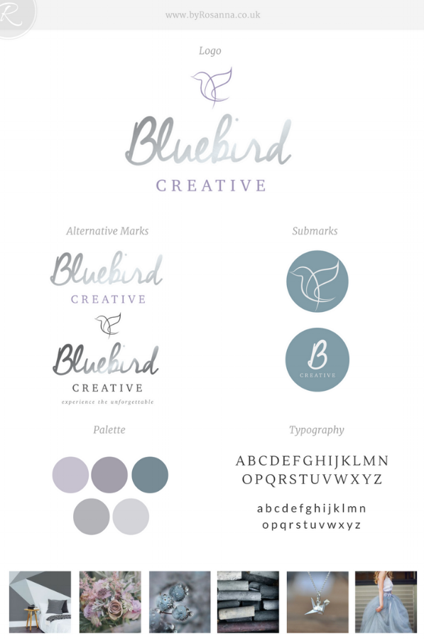 Bluebird Creative Brand | byRosanna