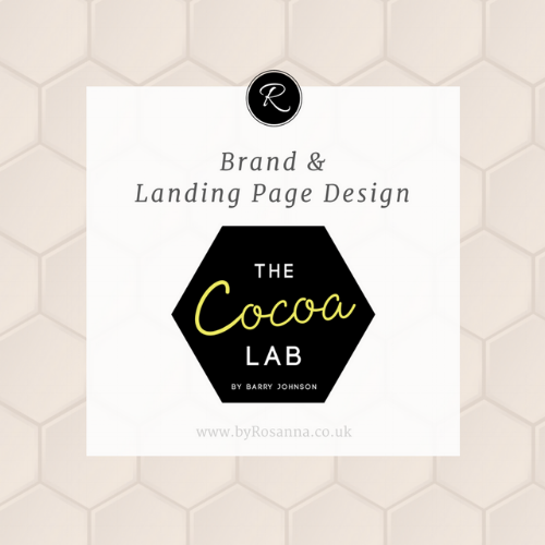 Brand & Landing Page Design for The Cocoa Lab