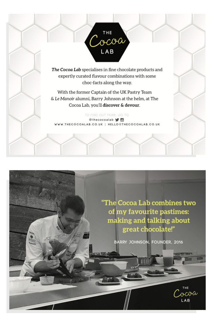 The Cocoa Lab Brand Collateral | byRosanna
