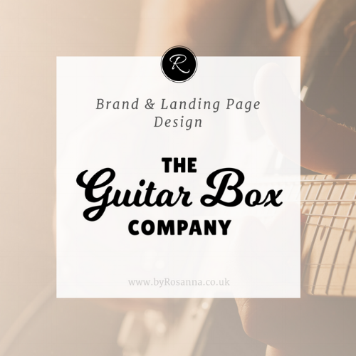 The Guitar Box Company Branding