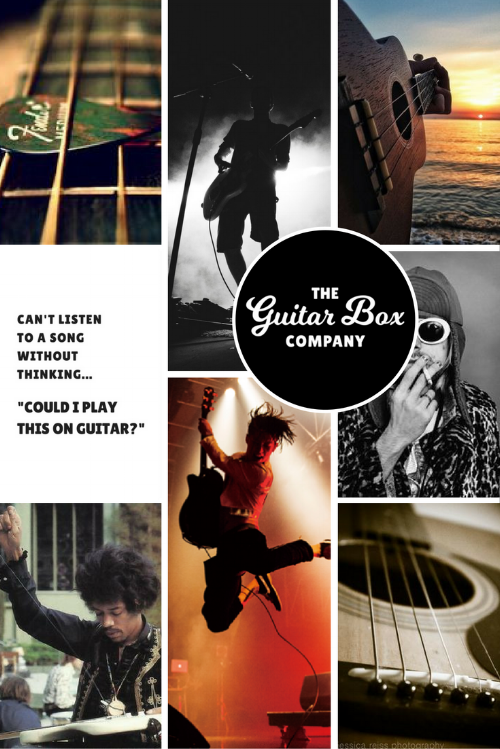 The Guitar Box Company Moodboard | byRosanna