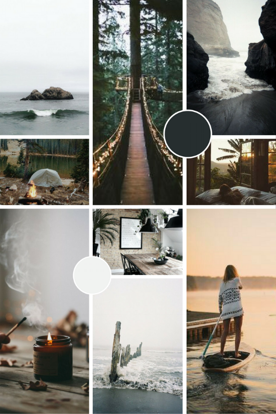 The Cornish Life Brand Mood Board | byRosanna