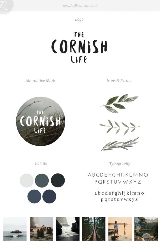 The Cornish Life Brand Concept | byRosanna