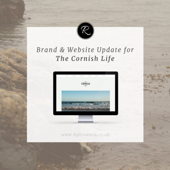 The Cornish Life Brand Progression | byRosanna