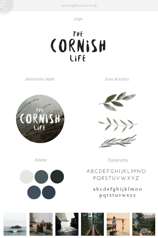 The Cornish Life Brand Concept | byRosanna