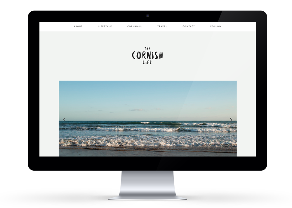 The Cornish Life website