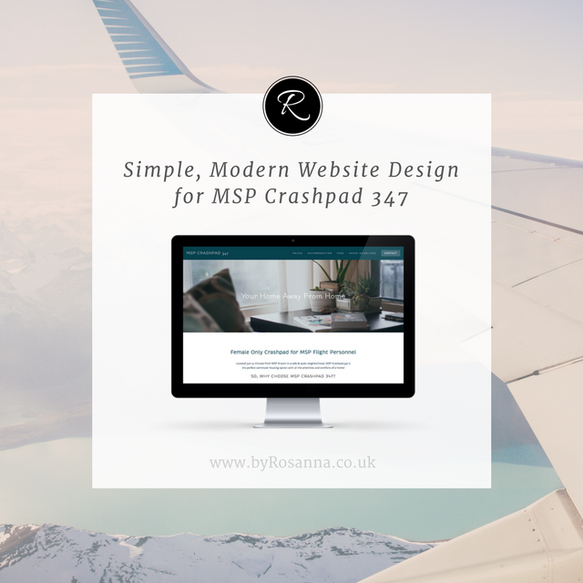 Simple, Modern Website Design for MSP Crashpad 327