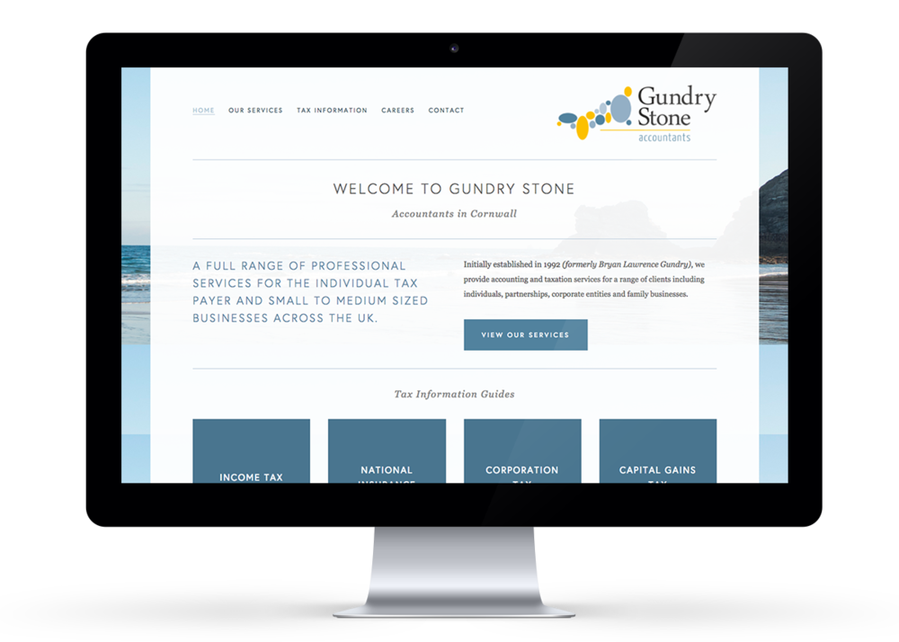 Gundry Stone Website Design