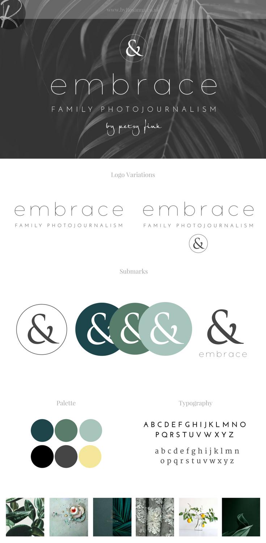Petsy Fink Brand Concept Board | byRosanna