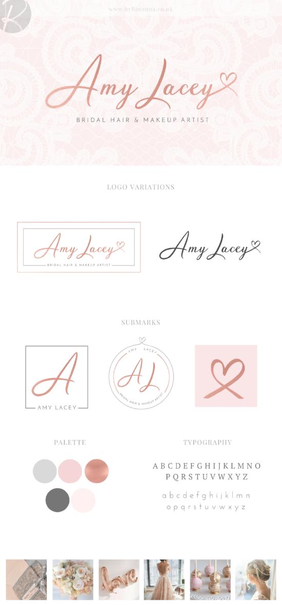 Amy Lacey Brand Concept Board | byRosanna