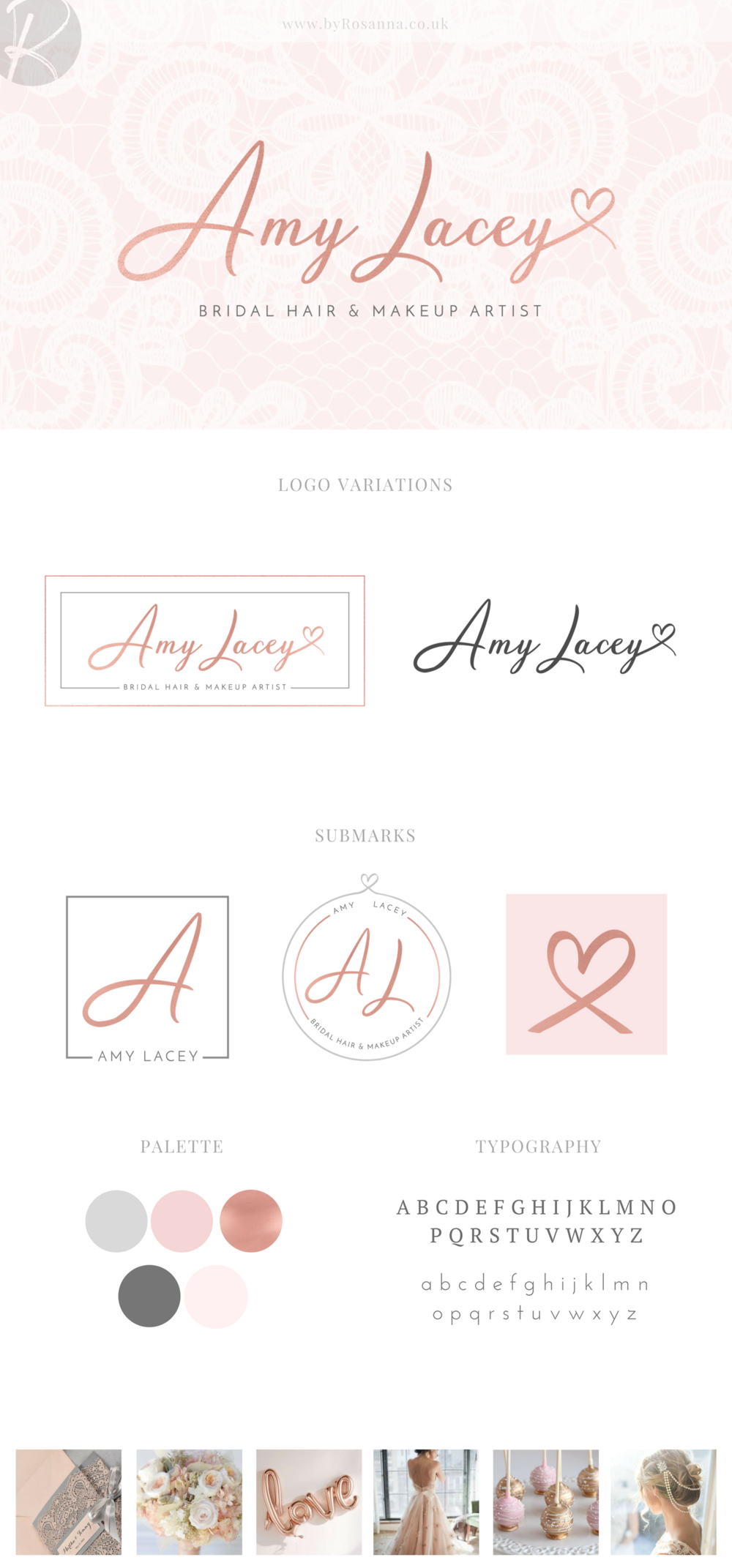 Amy Lacey Brand Concept Board
