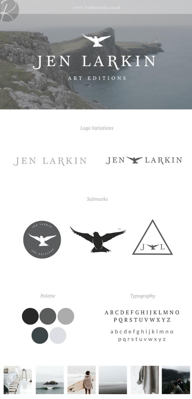 Jen Larkin Branding | byRosanna