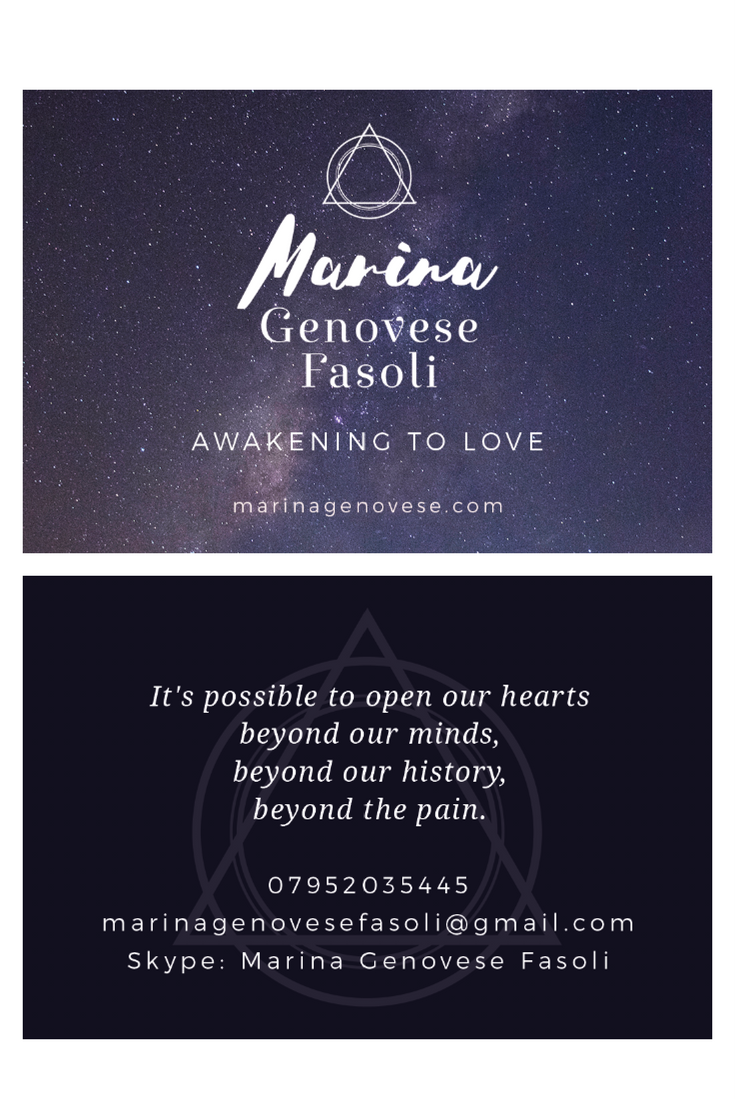 Marina Business card design