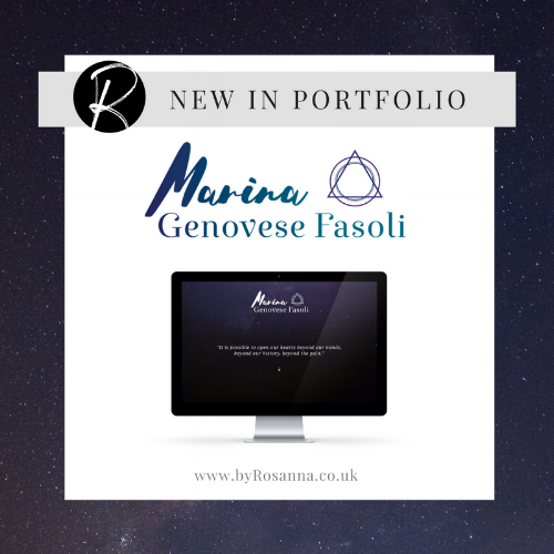 Brand & Website Design for Marina | byRosanna