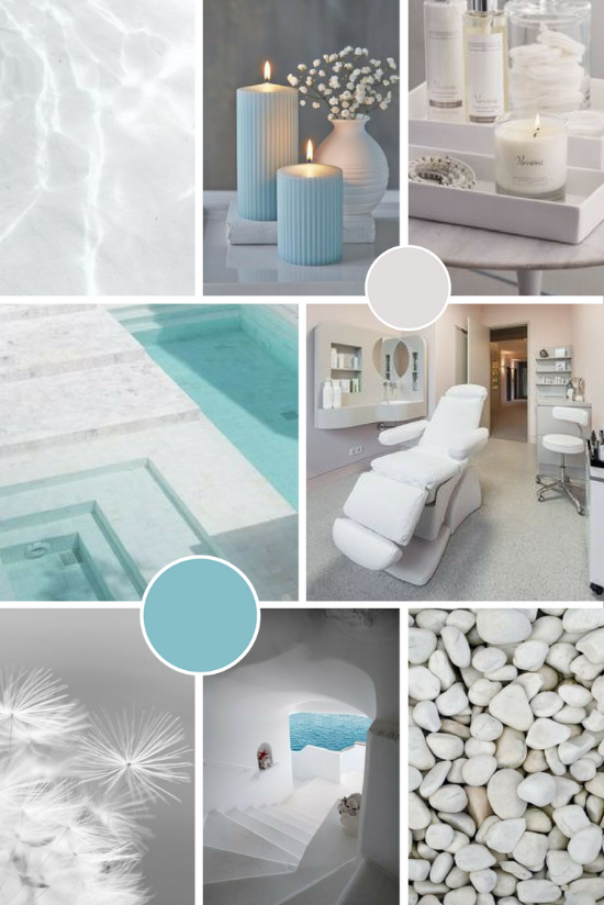 Timeless Expressions brand moodboard