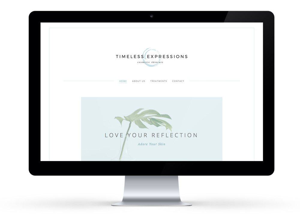 Website design in Squarespace byRosanna